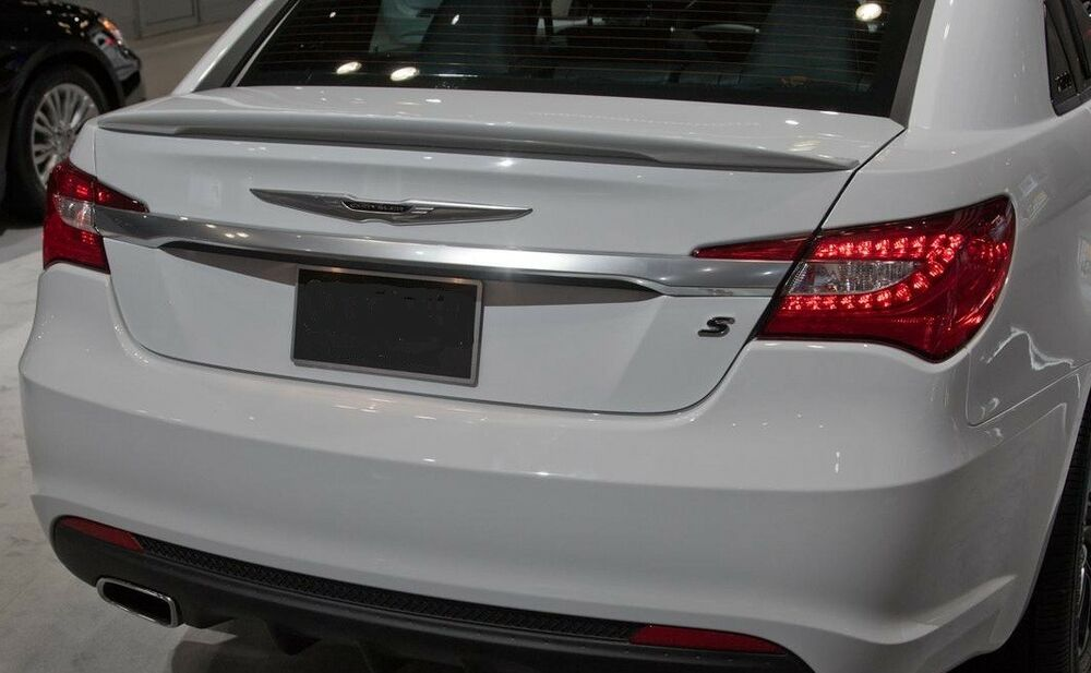chrysler 200 spoiler painted lifetime warranty 3m install all colors. Cars Review. Best American Auto & Cars Review
