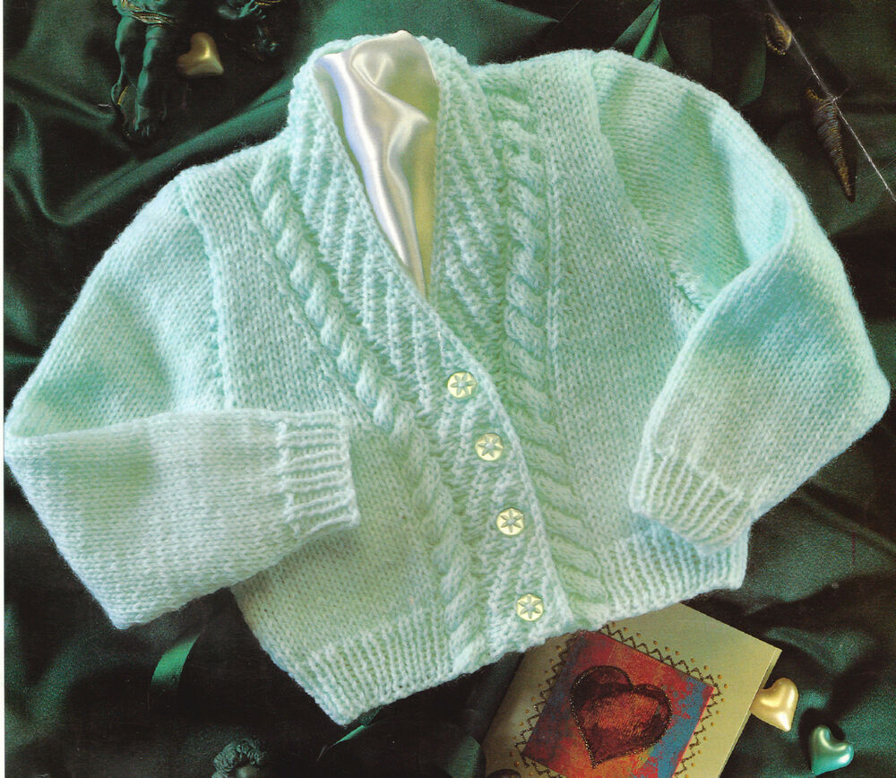 Unusual Knitting Patterns For Toddlers : Baby Cardigan 12