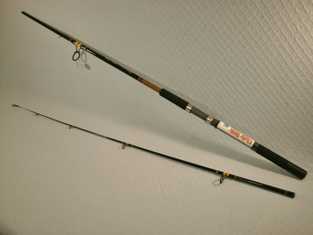 Shakespeare ugly stik 10 39 mh big water spinning rod ebay for Shakespeare fishing rod