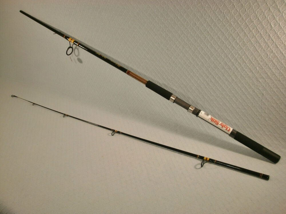 Shakespeare ugly stik 10 39 mh big water spinning rod ebay for Ugly stik fishing rod