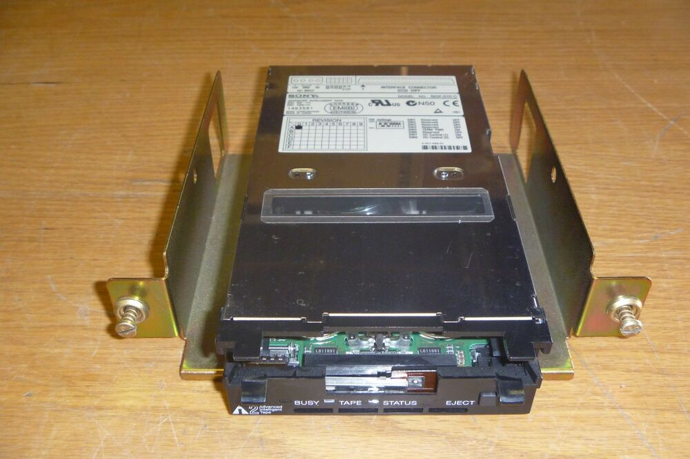 Qualstar SDX-510C/L Sony AIT-2 HVD Diff. Tape Drive for TLS ...