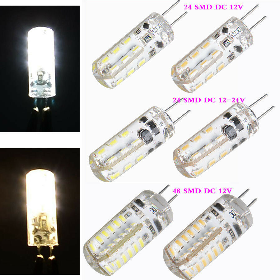 Hot G4 2w Led Capsule Bulb Replace Halogen Bulb 12v Smd Led Light Bulb Lamps Ebay
