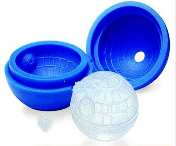1pc 3d silicone ice cube round diy mould pudding mold ice trays ebay. Black Bedroom Furniture Sets. Home Design Ideas