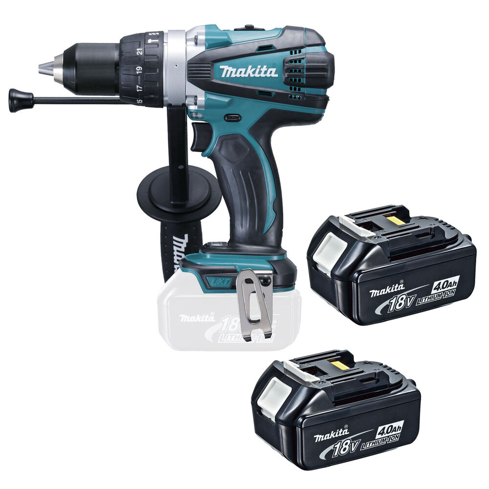 makita 18v lxt dhp458 dhp458z dhp458rfe combi drill and 2. Black Bedroom Furniture Sets. Home Design Ideas