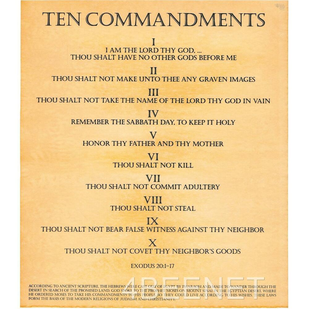 10 commandments of essay writing