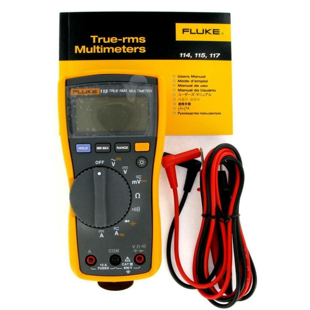 True Rms Meter : New fluke true rms digital multimeter ebay