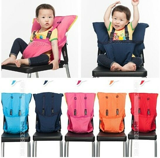 new portable baby child multifunctional portable high chair seat cover ebay. Black Bedroom Furniture Sets. Home Design Ideas