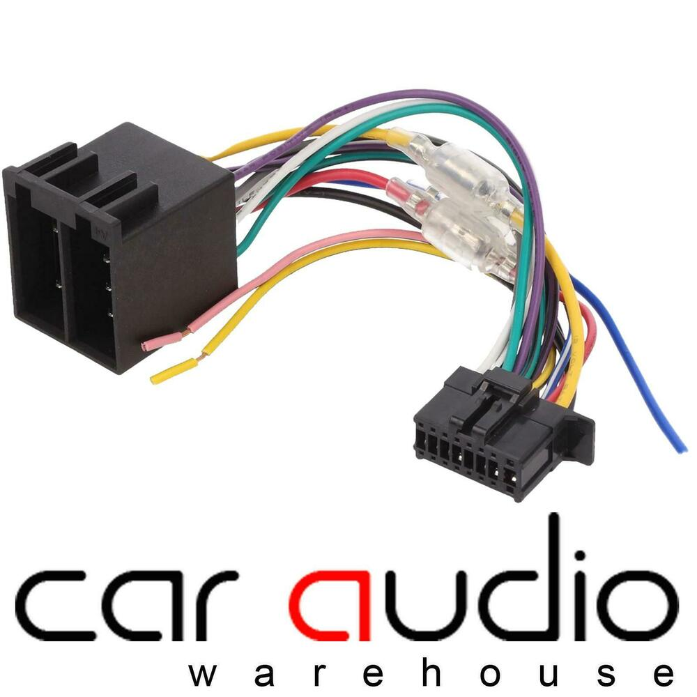 pioneer iso unit replacement car stereo wiring harness ct21pn09 ebay
