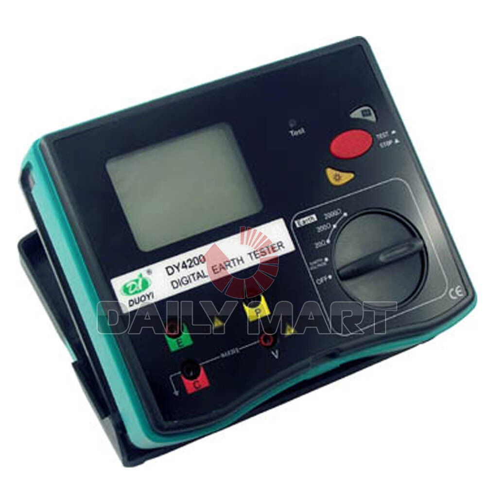 Ground Impedance Tester : New duoyi dy digital earth ground resistance tester