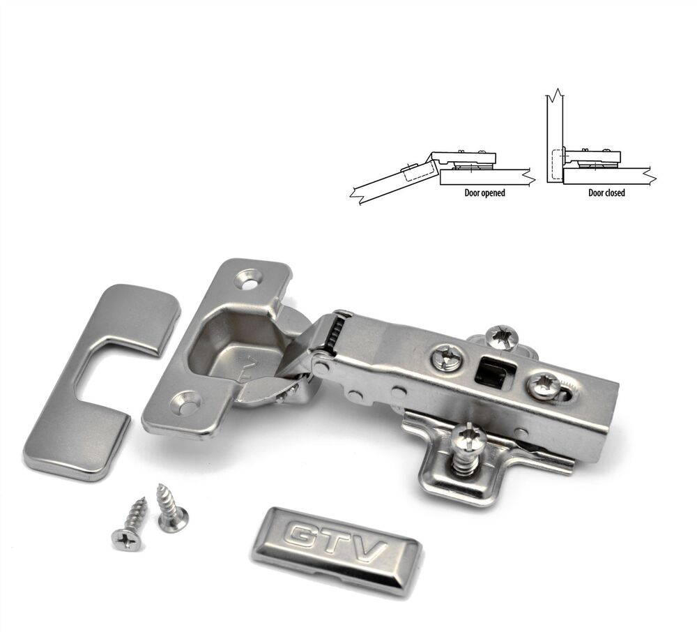 Kitchen Cabinet Hinges Soft Close: GTV SOFT CLOSE KITCHEN CABINET DOOR HINGE PLATE & SCREWS