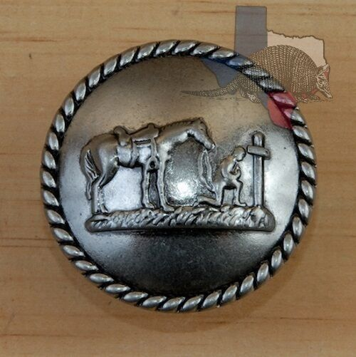 Western Cowboy At The Cross Cabinet Hardware Knobs Drawer