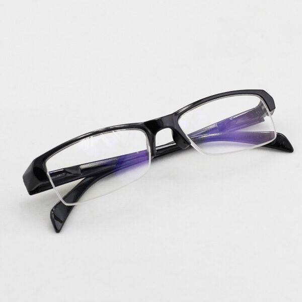 What Are Half Frame Glasses Called : Stylish Unisex Mens Women Myopia Small Half-rimless Frame ...
