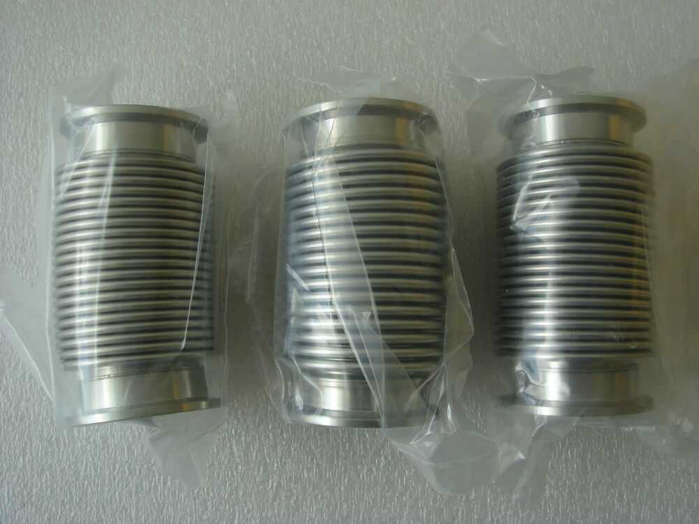 Kf stainless steel bellows vacuun line approx