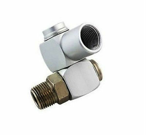 Quot npt air hose swivel connector degree fits