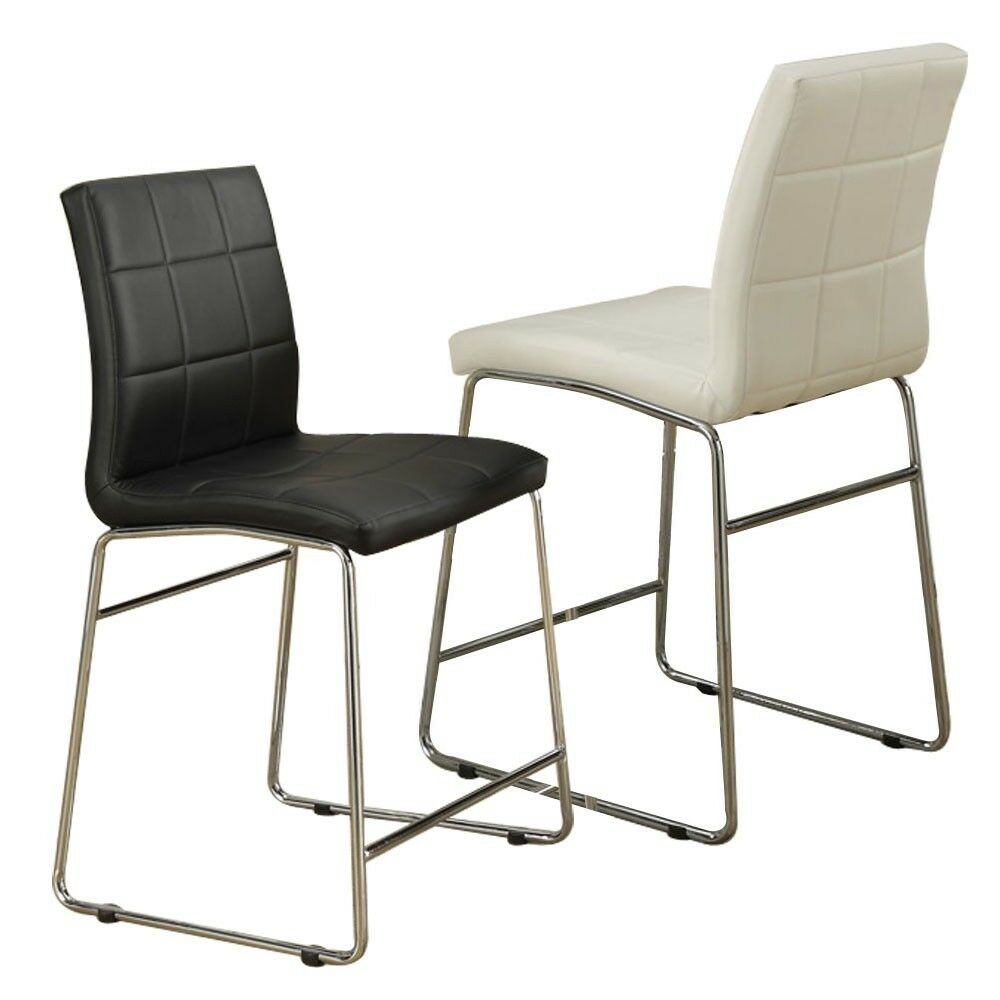 Modern faux leather counter height bar stool dining side - The benefits of contemporary bar furniture ...