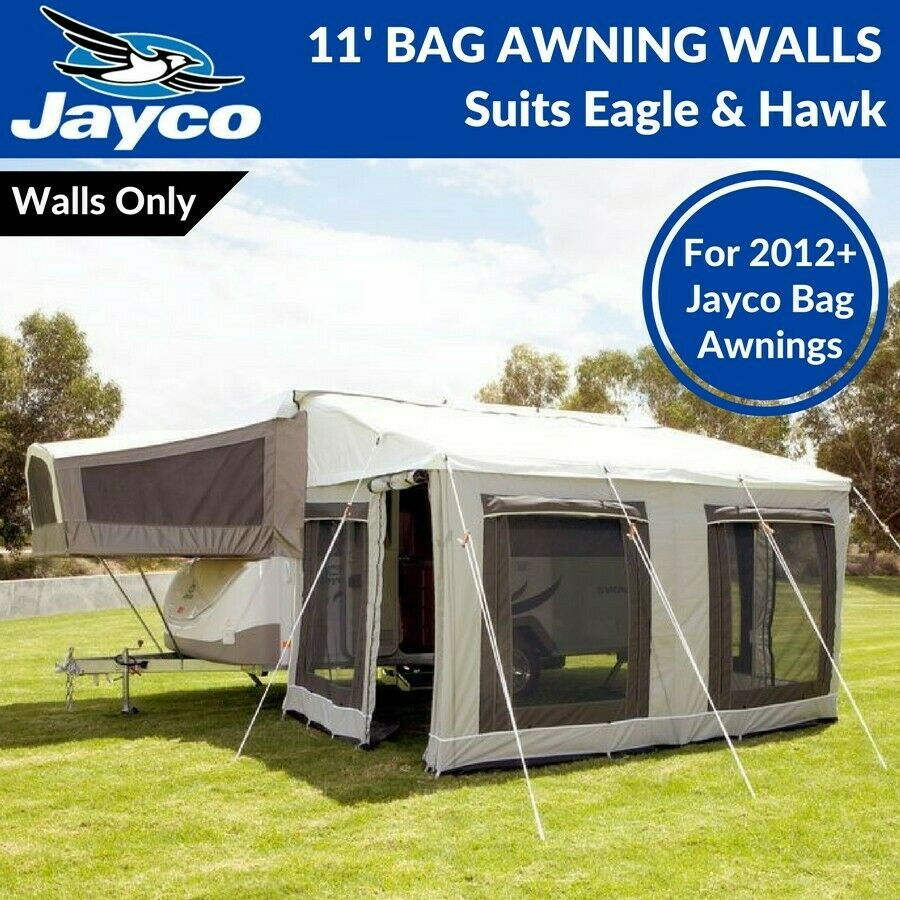 Amazing 11u0027 Ft Jayco Bag Awning Walls Only / Annexe For New Eagle U0026 Hawk Camper  Trailer | EBay
