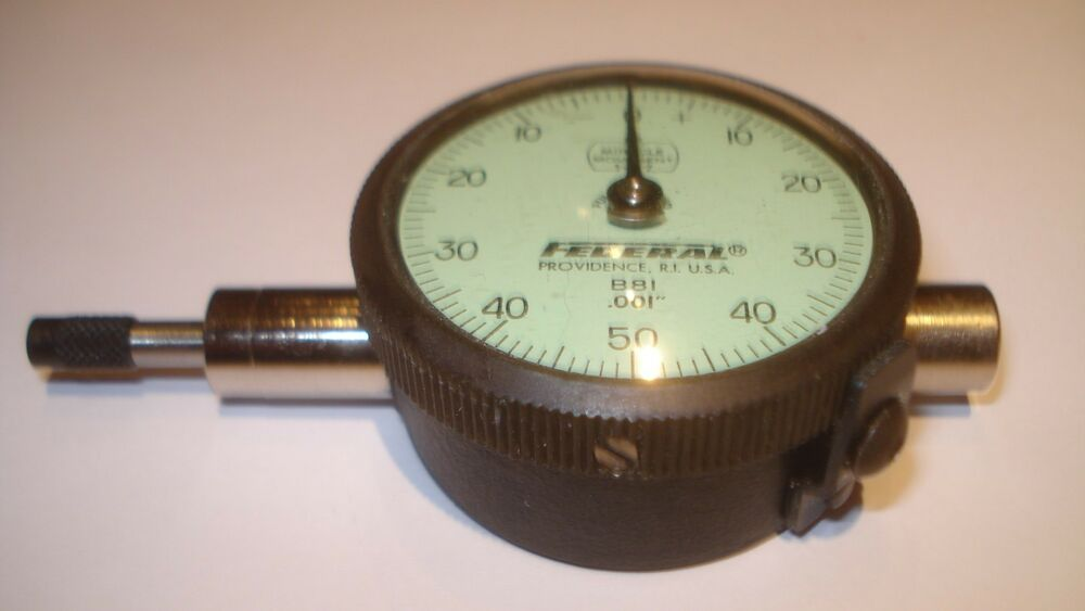 Federal Indicators Gages : Gage probe indicator w federal b dial in