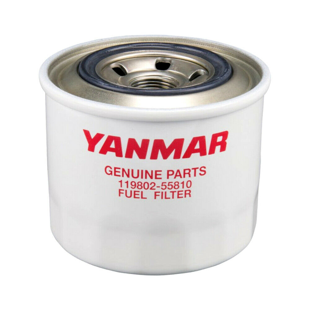 genuine yanmar marine diesel fuel filter 119802-55801 - jh ... yanmar fuel filter
