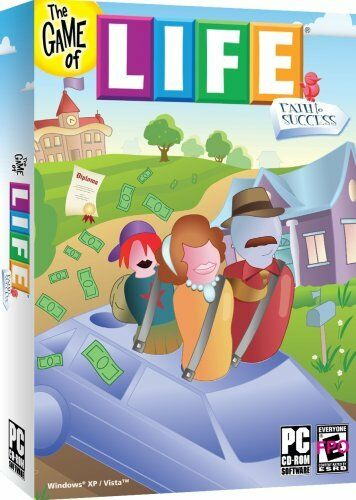 New Box Games : The game of life path to success pc new in box