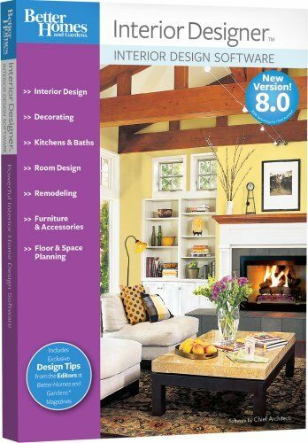better homes and gardens interior designer 8 0 8 pc new in box