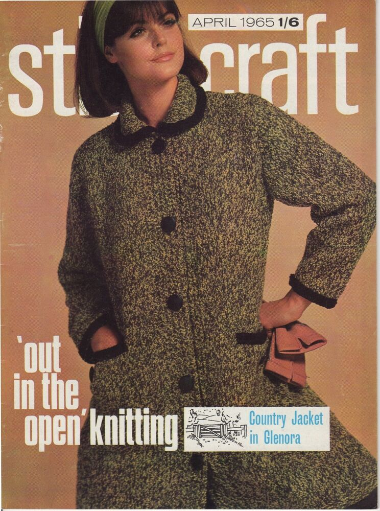 Knitting Magazines List : Stitchcraft april vintage sewing magazine s