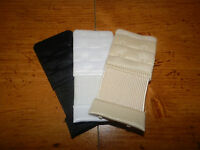 3pc Stretch 2 Hook Bra Extension Extender Beige White and Black New In Package