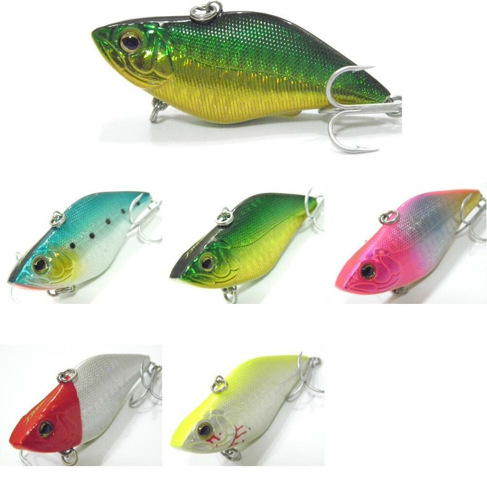 Wlure lipless crankbait fishing lures wide profile tight for Fishing lures ebay
