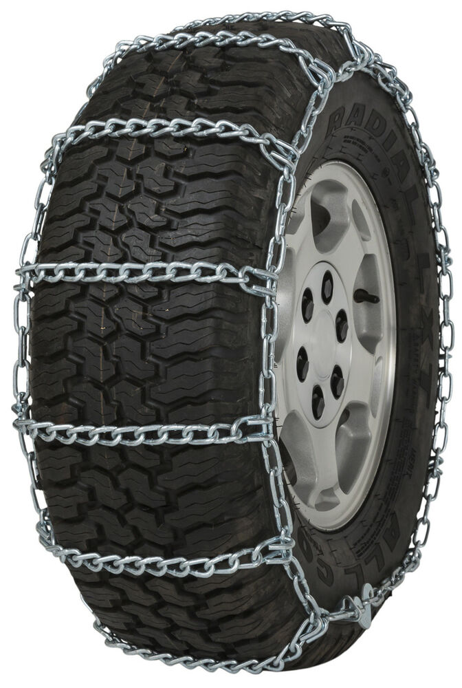 quality chain   cam mm link tire chains snow traction suv lt truck ebay