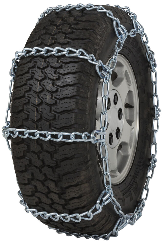 quality chain hh  cam mm link tire chains snow traction suv lt truck ebay