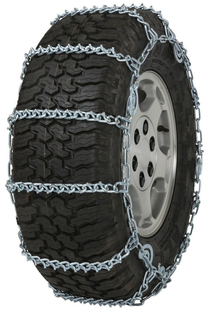 quality chain qc  bar cam mm link tire chains snow traction suv truck ebay
