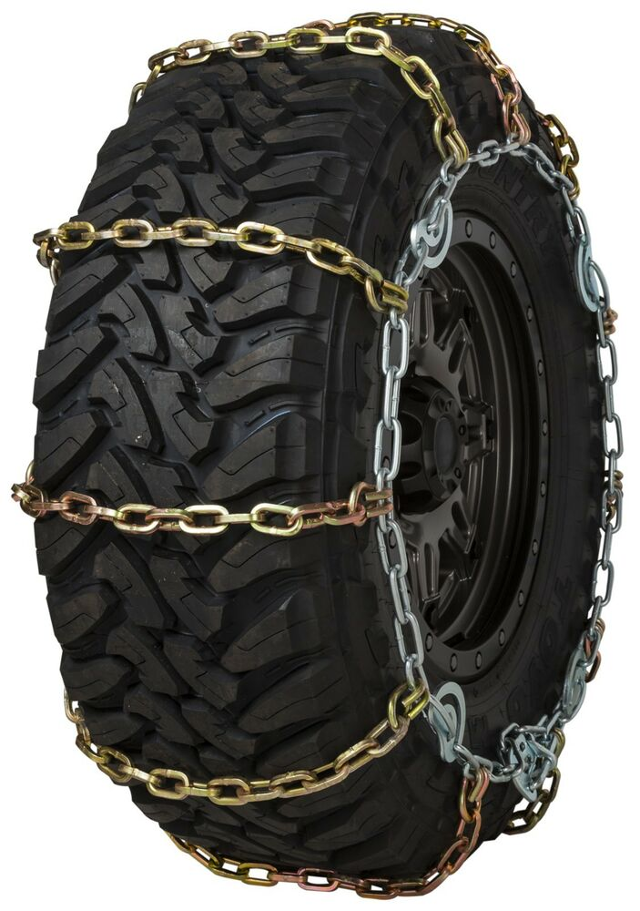 quality chain slc wide base mm square link tire chains traction suv truck ebay