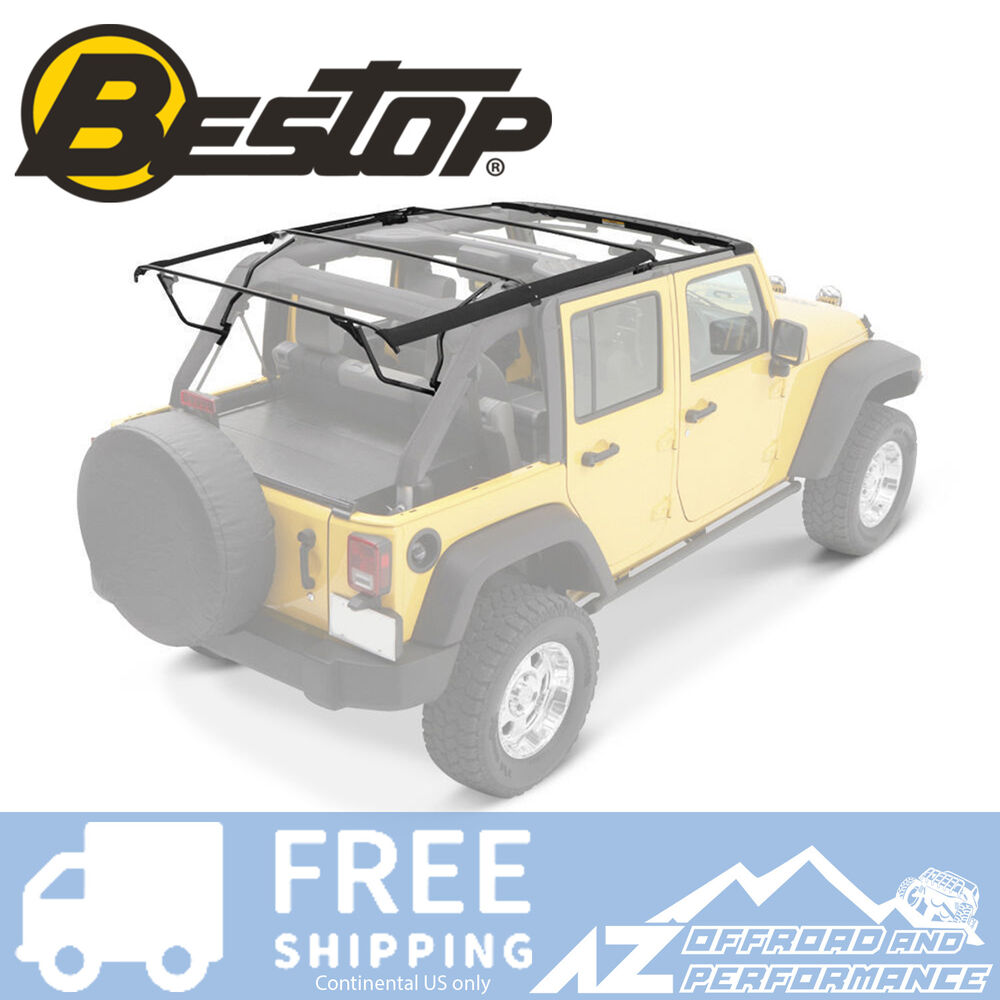 Jeep Yj Soft Top Replacement Bow Kit 88 95 Jeep Wrangler: Bestop Factory Style Bow Kit 07-17 Jeep Wrangler Unlimited