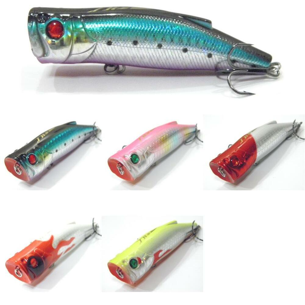 Wlure topwater popper fishing lures high splash loud for Topwater fishing lures