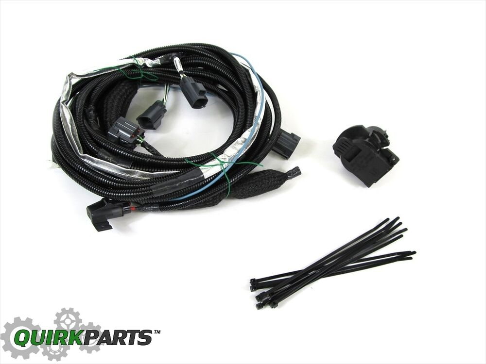 Trailer Wiring Harness For 2011 Jeep Liberty : Jeep liberty dodge nitro tow wiring harness for trailer