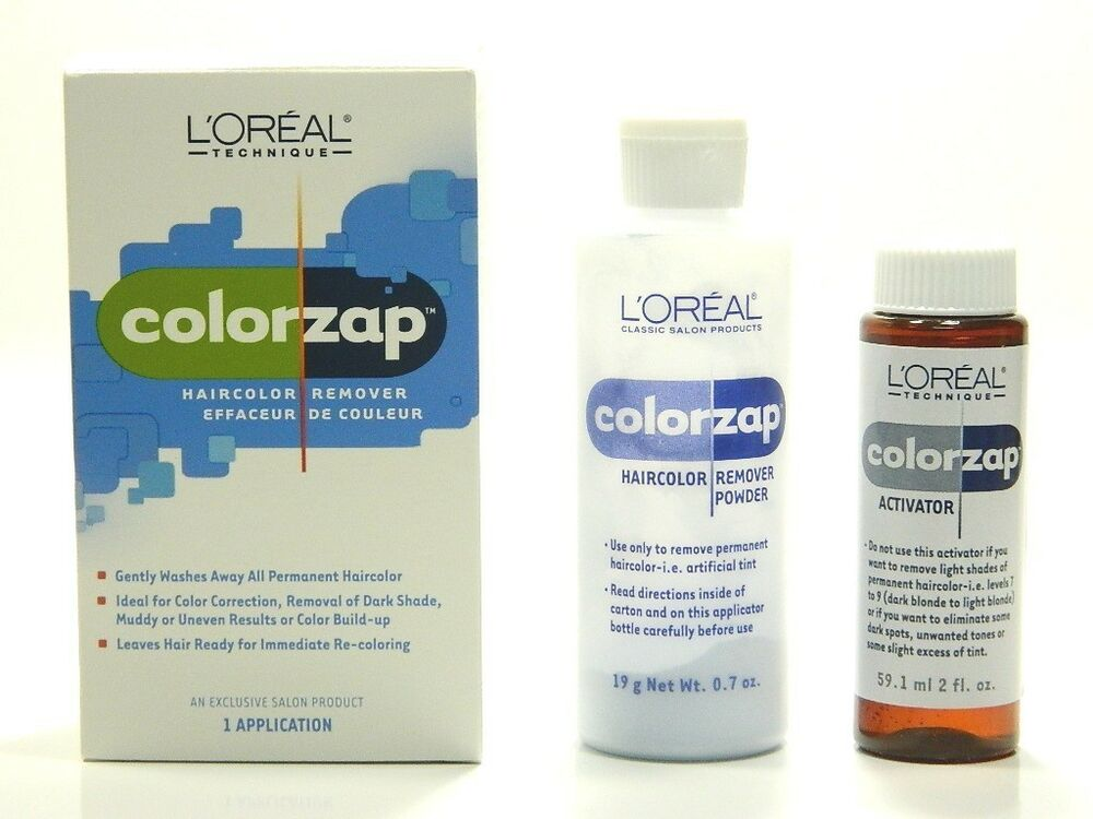 L'OREAL COLOR ZAP HAIR COLOR REMOVER SET | eBay