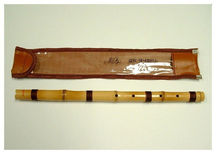 Bamboo Danso Korea Traditional Small Flute Musical ... Woodwind Band Instruments