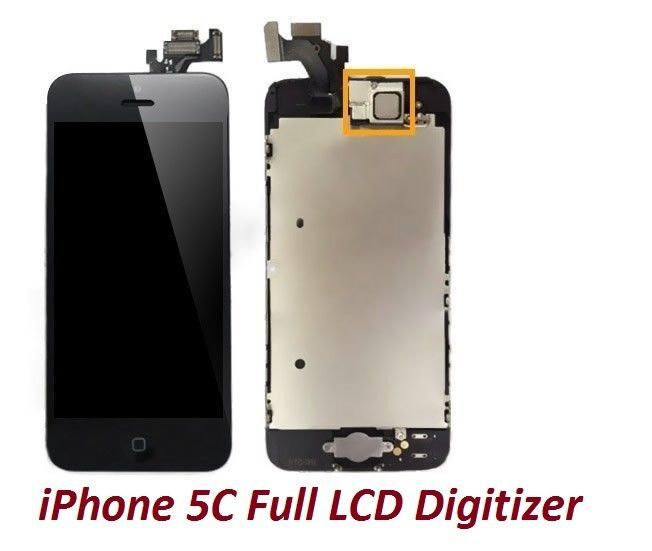 iphone 5c home button not working new iphone 5c black lcd touch digitizer glass screen 19313