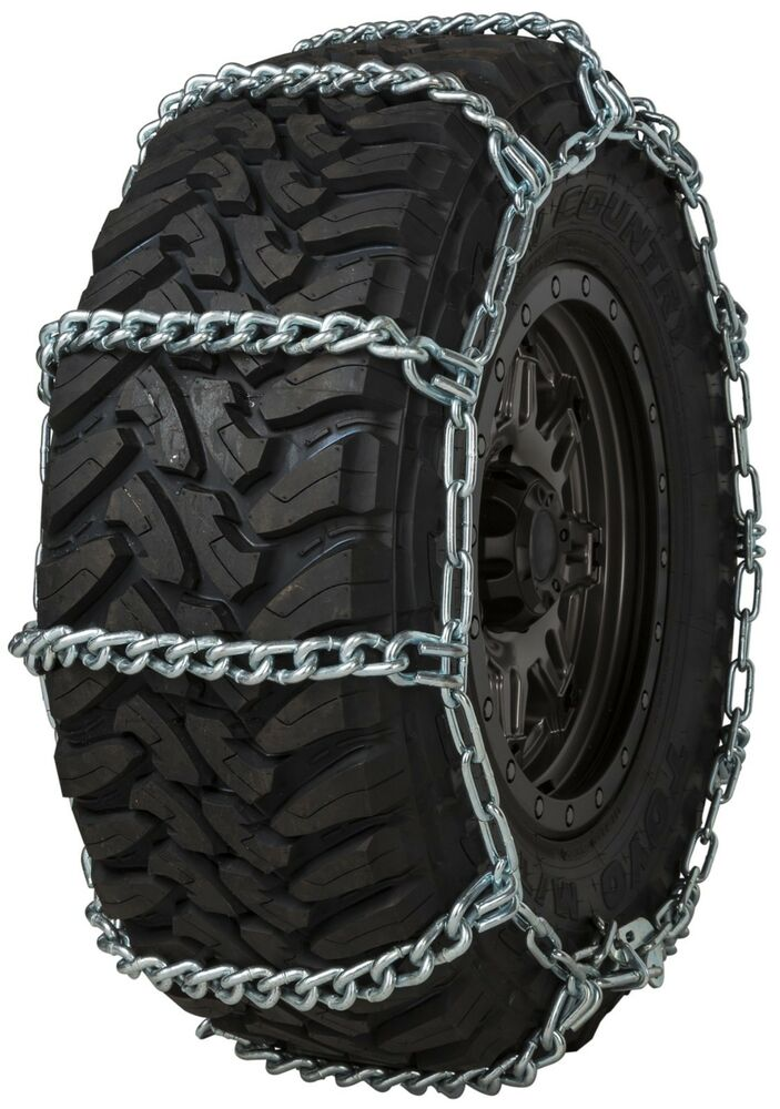 quality chain hh wide base  cam mm link tire chains snow suv  truck  ebay
