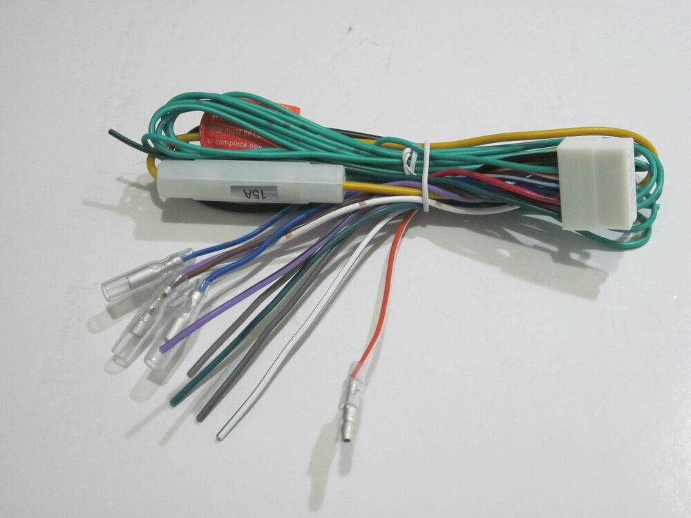 clarion wire harness color codes clarion nx604 harness wires original clarion wire harness for max667vd oem new d | ebay