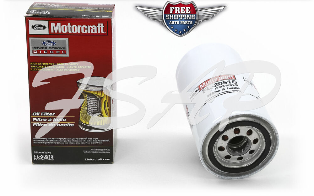 motorcraft fl2051 oil filter 2011 2013 ford 6 7l v8 diesel. Black Bedroom Furniture Sets. Home Design Ideas