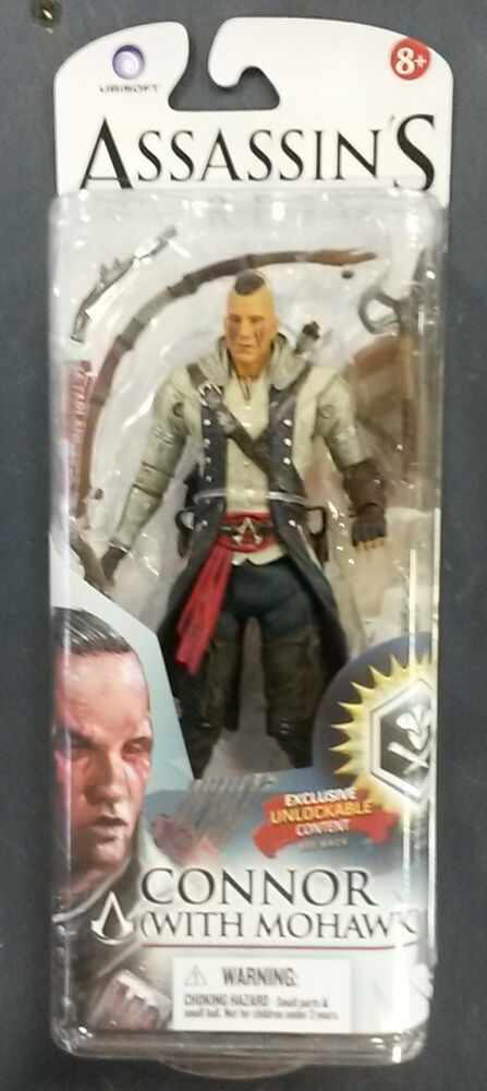MCFARLANE ASSASSIN'S CREED SERIES 2 CONNOR (W/ MOHAWK ...
