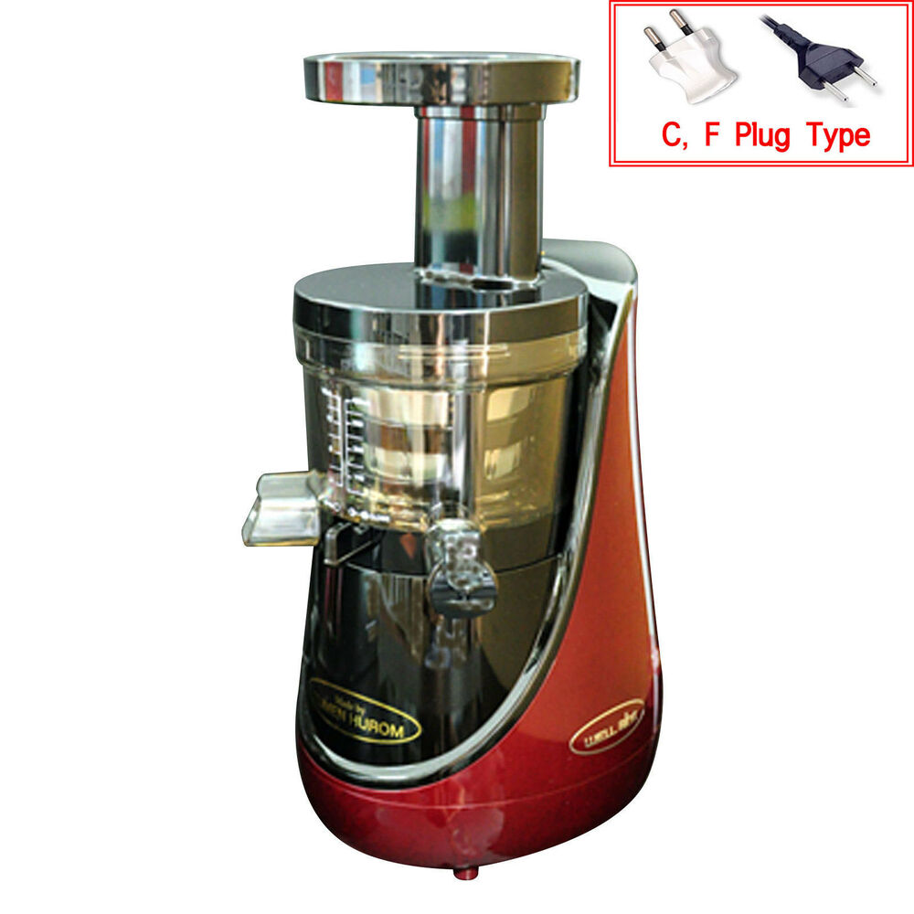 Hurom Premium Slow Juicer Review : 2015 New TUMEN HUROM Premium Gold HN-EBK20 Slow Juicer Extractor 2nd Generation eBay