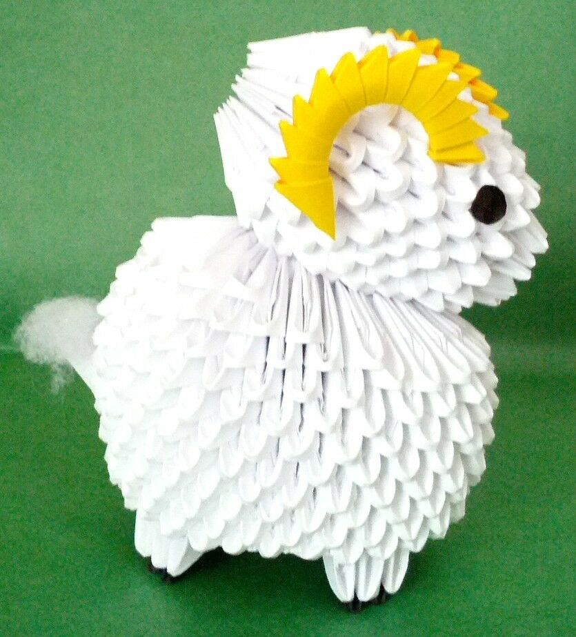 Origami Sheep Instructions Easy