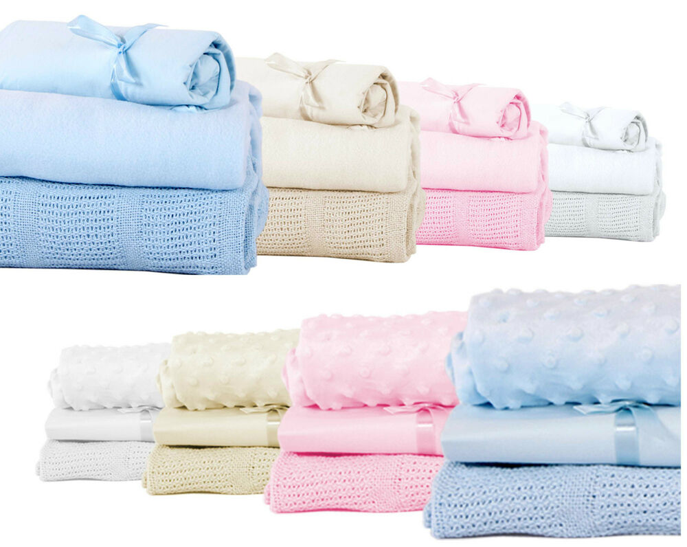 Baby bedding starter bundle blanket sheet set moses cot for Starter bed
