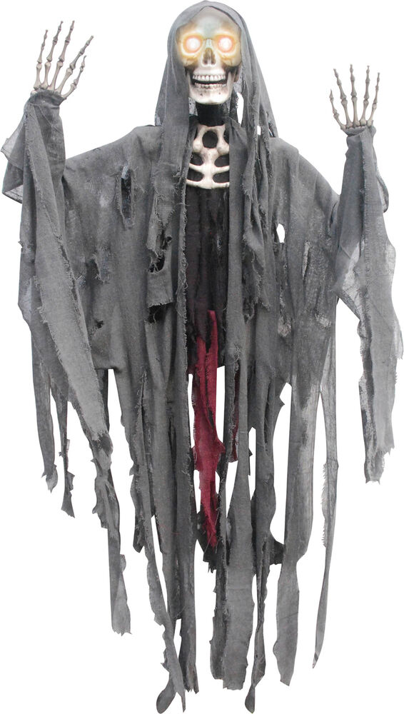 = Animated Peeper Reaper Halloween Prop Skeleton Haunted