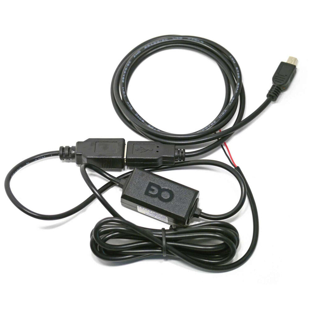 Auto Vehicle Cables : Hardwire car charger cable power cord for dash camcorder