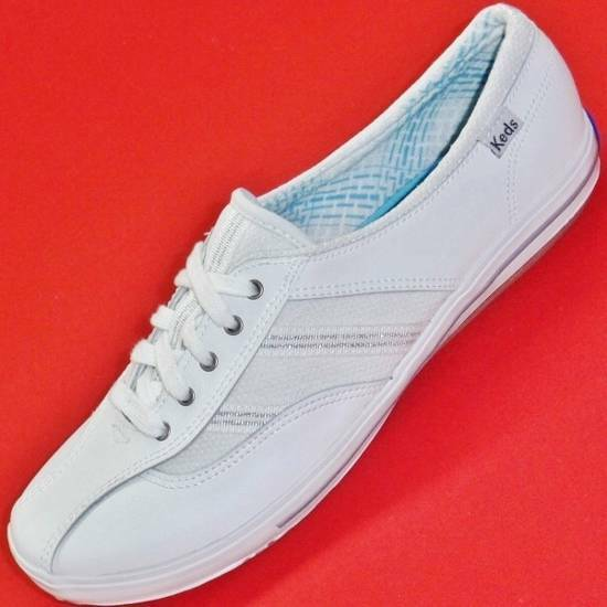 keds wh46200 coursa s white athletic casual sneakers