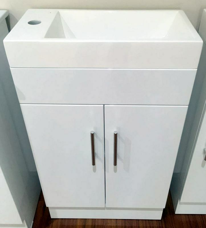 Sale designer 500mm bathroom vanity basin cabinet ebay for Bathroom cabinets ebay australia