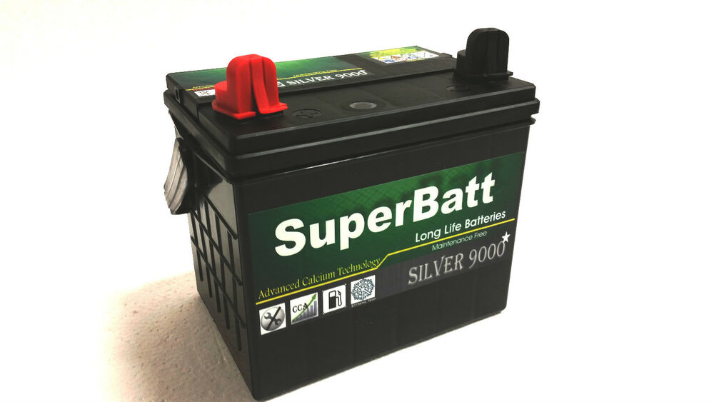 12v 35ah superbatt 896 lawn mower battery mini tractor mower ride on mower ebay. Black Bedroom Furniture Sets. Home Design Ideas