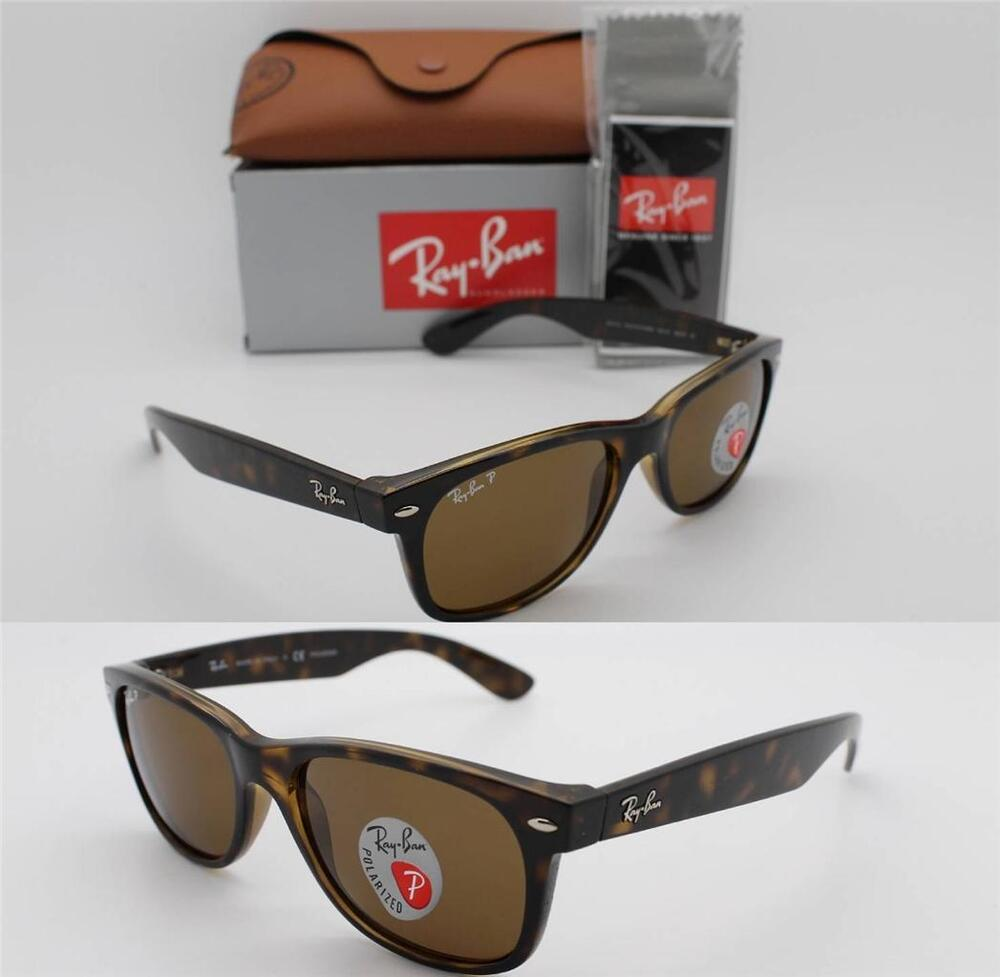 fake ray ban wayfarer sunglasses tortoise  ray ban rb 2132 902/57 55mm new wayfarer tortoise w/ brown polarized lenses